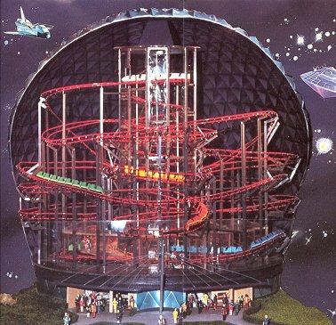 Les plagiats des attractions Disney. 4. Space Mountain 1